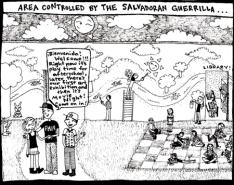 TSCCartoon21-TheSalvadoranGuerrilla